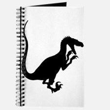 Velociraptor Silhouette Journal