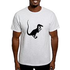 Velociraptor Silhouette T-Shirt