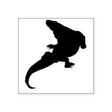 Varanosaurus Silhouette Sticker