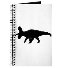 Torosaurus Silhouette Journal