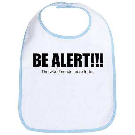 Be Alert Bib