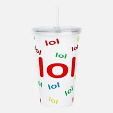 LOL Acrylic Double-wall Tumbler