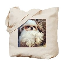 Cute Shihtzu Tote Bag