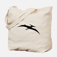 Pterodactyl Silhouette Tote Bag