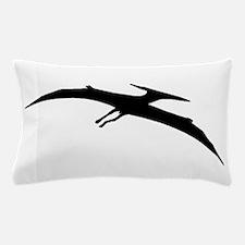 Pterodactyl Silhouette Pillow Case