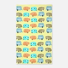 Rambling RVs 3'x5' Area Rug
