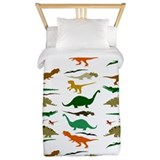 Dinosaur Luxe Twin Duvet Cover