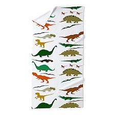 Dinosauria Beach Towel