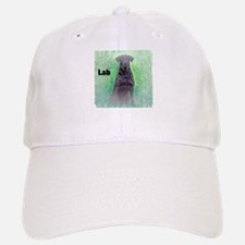 Labrador Retriever Black Lab 2 Baseball Baseball Cap