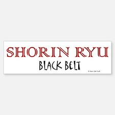 Shorin Ryu Black Belt 1 Bumper Bumper Bumper Sticker