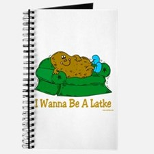Funny Hanukkah Latke Journal