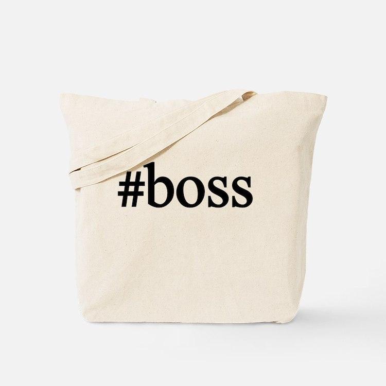 #boss Tote Bag