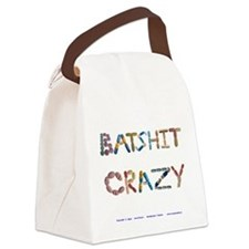 Batshit Crazy Canvas Lunch Bag