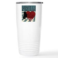 A Puritan at Heart Travel Mug