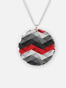 Abstract Chevron Necklace