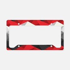 Abstract Chevron License Plate Holder