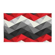 Abstract Chevron 3'x5' Area Rug