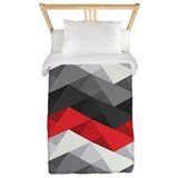 Abstract chevron Duvet Covers