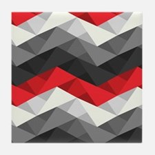 Abstract Chevron Tile Coaster
