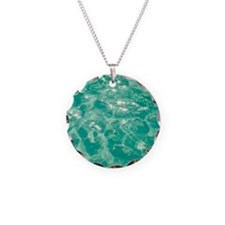 Sparkling turquoise water Necklace