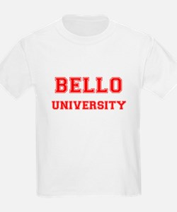 BELLO UNIVERSITY T-Shirt