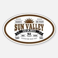 Sun Valley Vintage Decal
