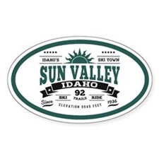 Sun Valley Vintage Decal