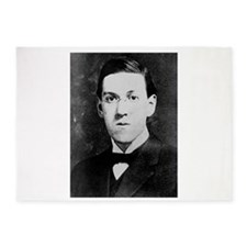 hp lovecraft 5'x7'Area Rug