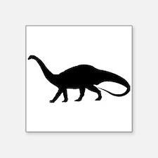 Melanosaurus Silhouette Sticker