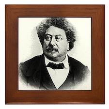 alexandre dumas Framed Tile