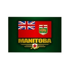 Manitoba Flag Magnets