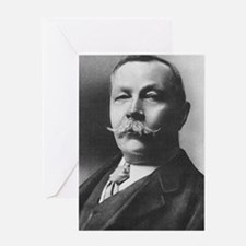 arthur conan doyle Greeting Cards