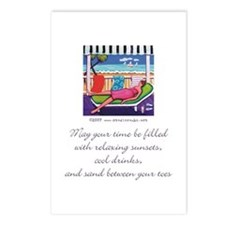 Sand Between your Toes Postcards (Package of 8)