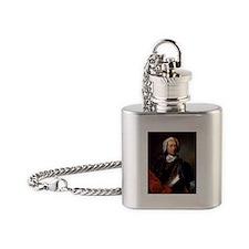 marquis de sade Flask Necklace