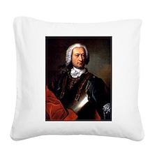 marquis de sade Square Canvas Pillow