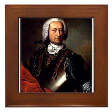 marquis de sade Framed Tile