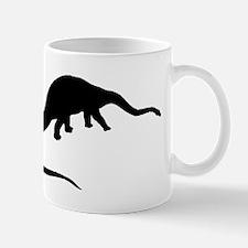 Diplodocus Silhouette Mugs