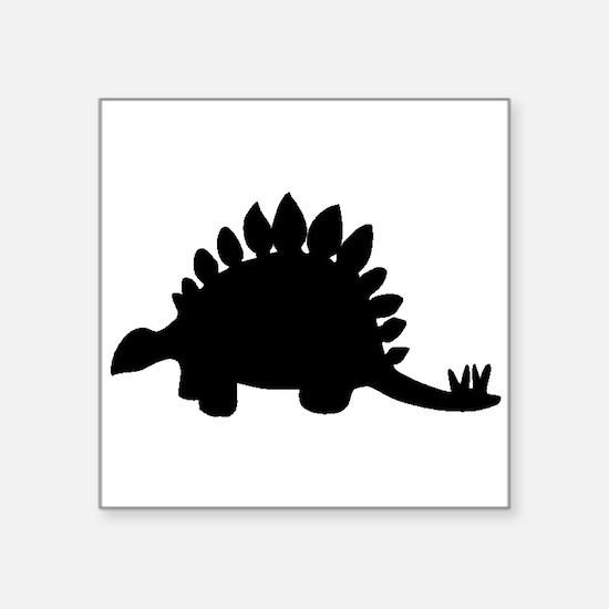 Stegosaurus Silhouette Sticker
