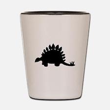 Stegosaurus Silhouette Shot Glass