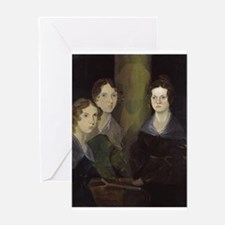 emily bronte Greeting Cards