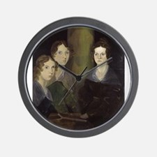 emily bronte Wall Clock