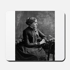 louisa may alcott Mousepad