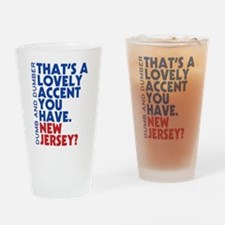 Lovely Accent Dumb And Dumber Drinking Glass