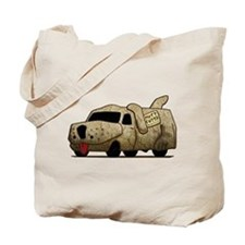 Vintage Mutt Cutts Van Dumb And Dumber Tote Bag