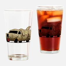Vintage Mutt Cutts Van Dumb And Dumber Drinking Gl