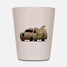 Vintage Mutt Cutts Van Dumb And Dumber Shot Glass