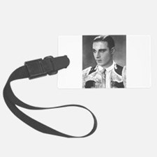 rudolph valentino Luggage Tag