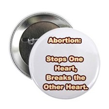 Glowing Hot Abortion Button