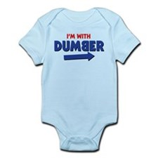I'm With Dumber Body Suit