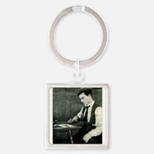 buster,keaton Keychains